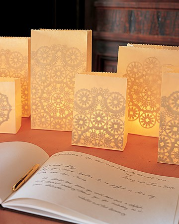 Elegant Weddings: Creating Luminaries to Light the Event