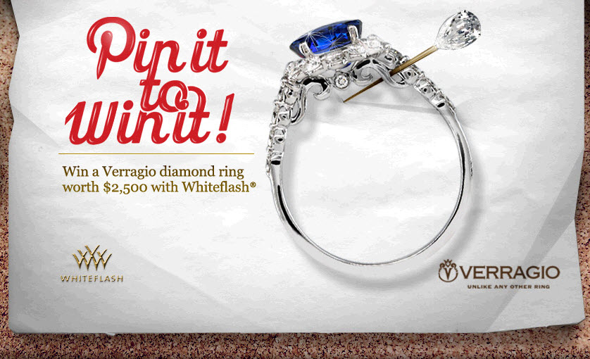 Sponsored Post: Pin It to Win It – Win a Gorgeous Verragio Diamond Engagement Ring