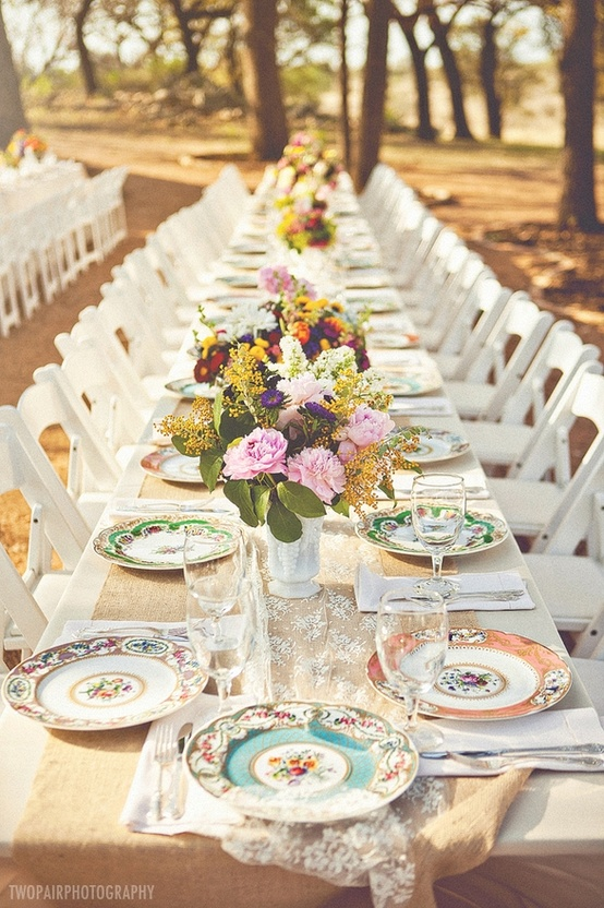 Shabby Chic Wedding Décor Ideas