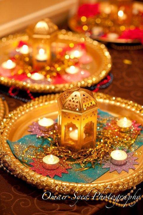 Indian Wedding Table Decor