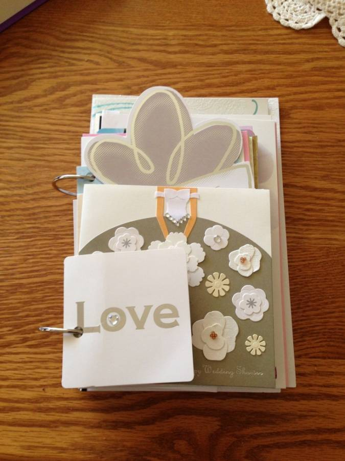 Wedding Card Coffee Table Book: DIY Display Idea