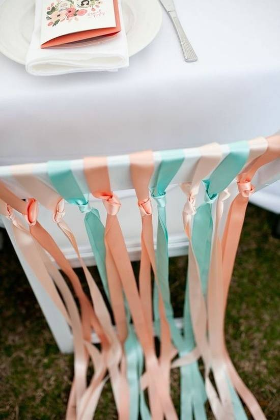 5 Unique Wedding Reception Chair Dressings