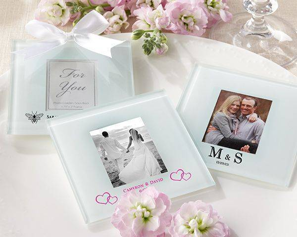 Personalized Coaster Wedding Favors