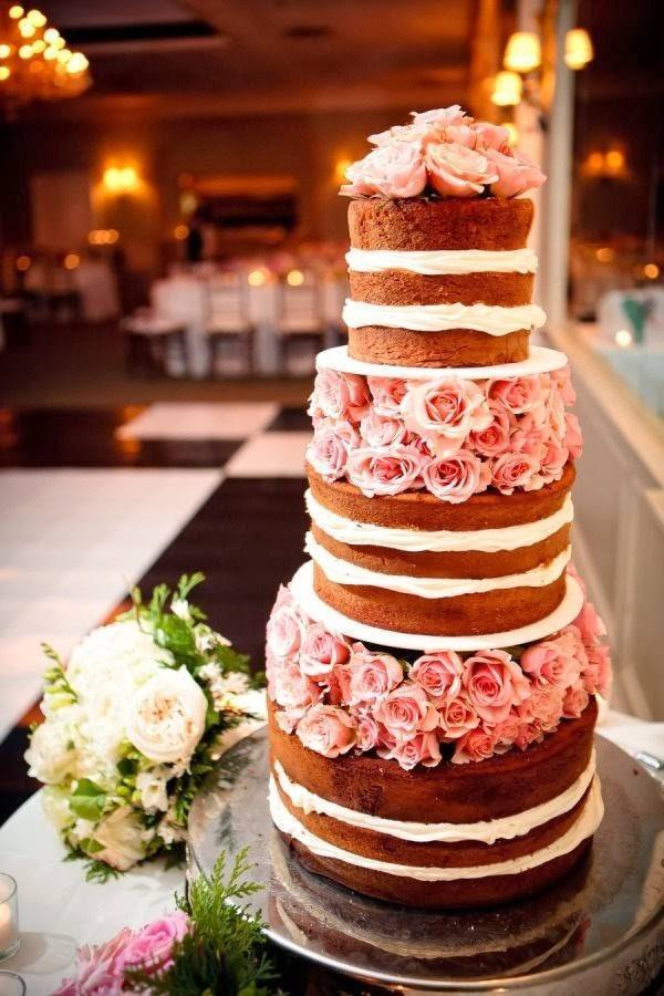 4 Beautiful Spring 2014 Wedding Cake Ideas
