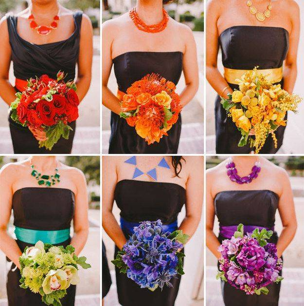 5 Ways to Add Color to Your Wedding