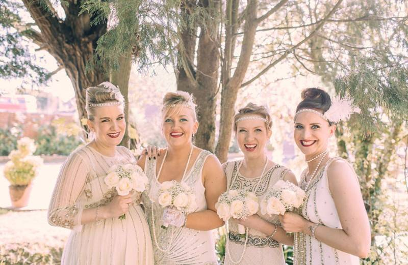 Bekki & Craig   A 1920s Inspired Wedding