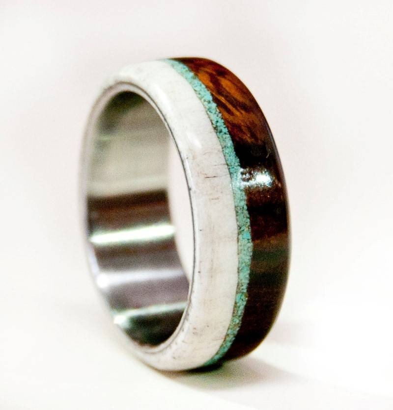 5 Unbelievably Beautiful Wooden Wedding Rings