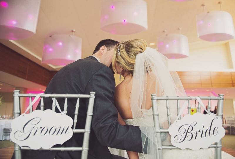 Boston Glam Wedding in Pink