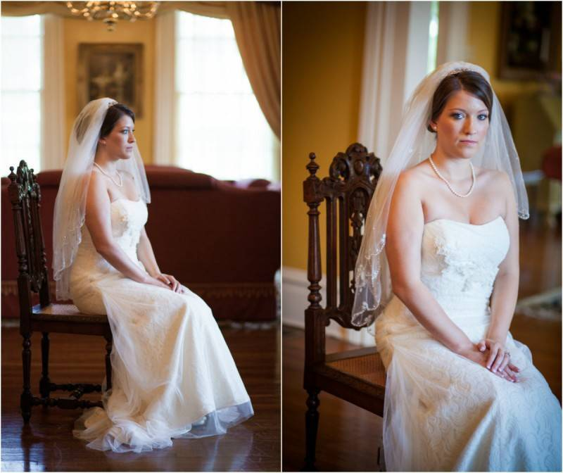Classically Set Bridal Shoot