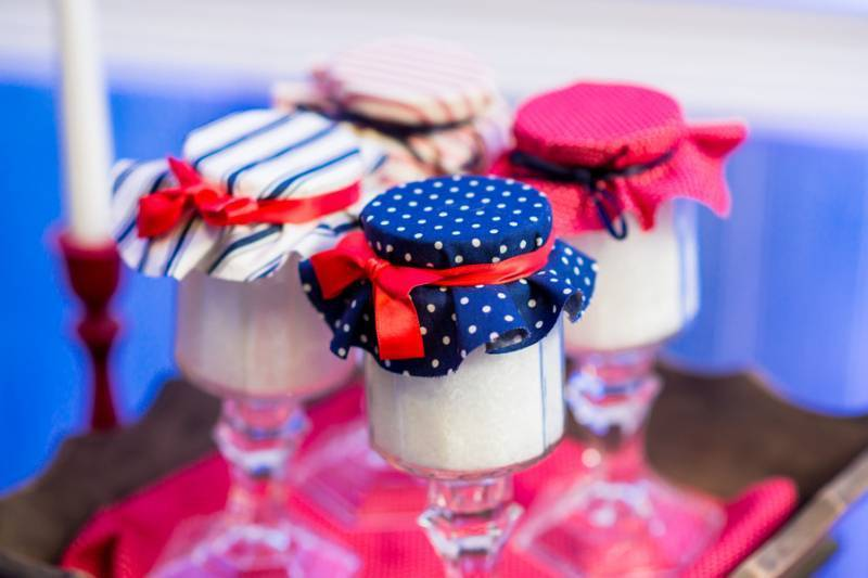 Red, White, and Blue Nautical Styled Shoot
