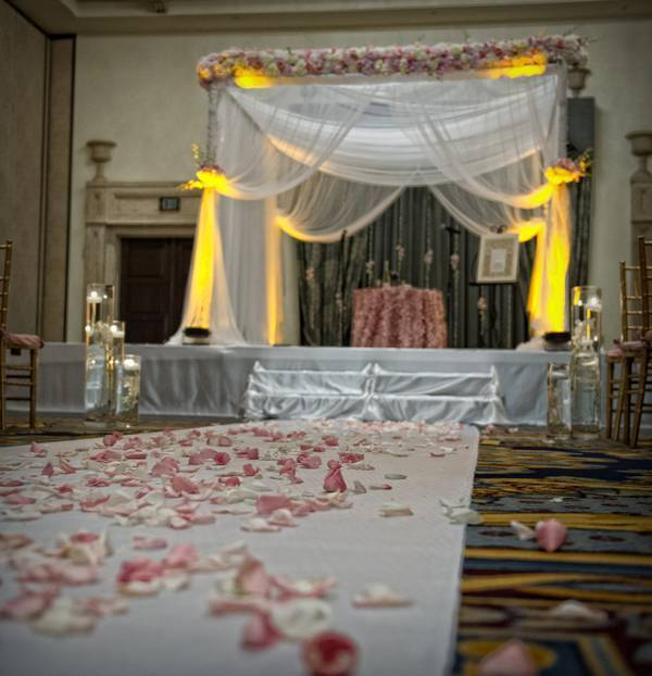Luxurious Wedding in the famous Pink Boca Raton Resort