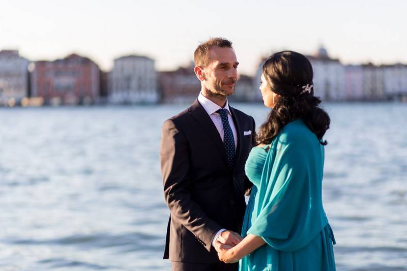A Beautiful Venice Wedding
