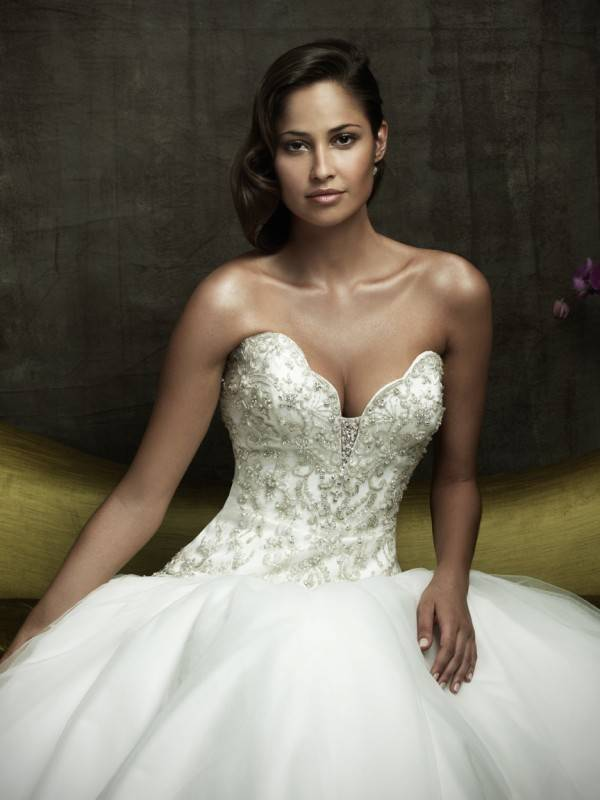 Flattering wedding dress styles for petite women elegant for Most sexy wedding dresses