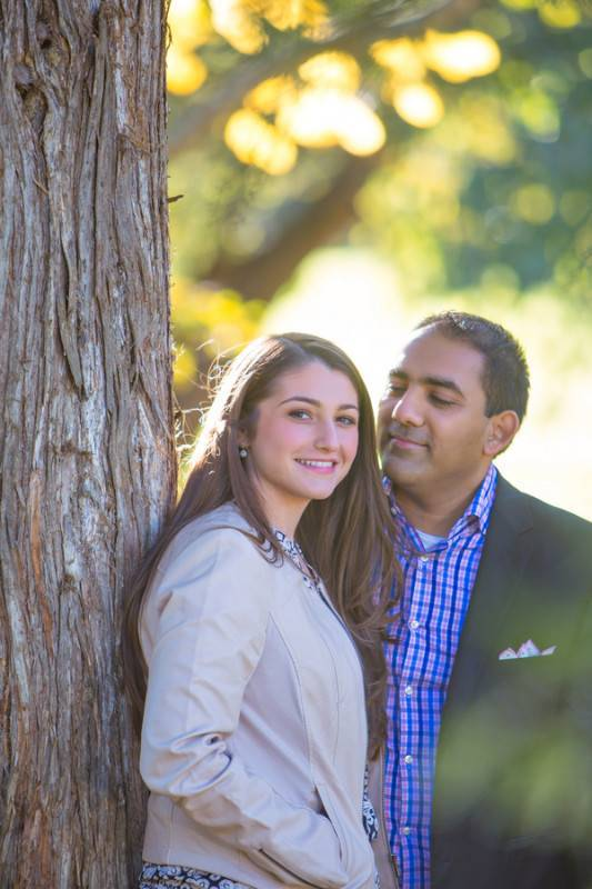 Stylish and Rustic   An Autumn Engagement