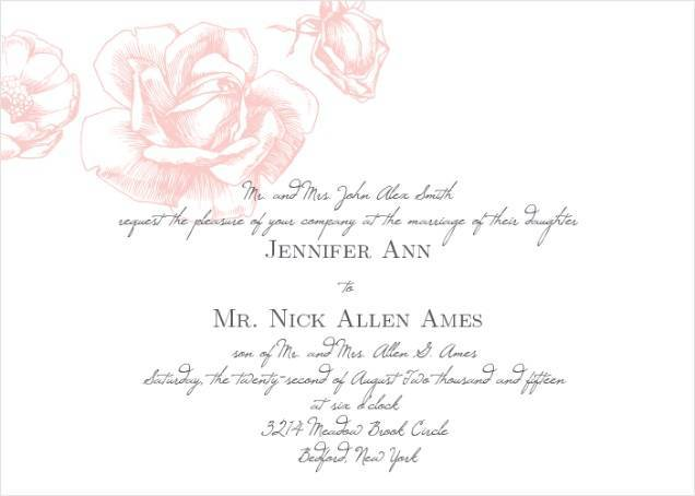 How to Choose the Perfect Traditional Wedding Invitation