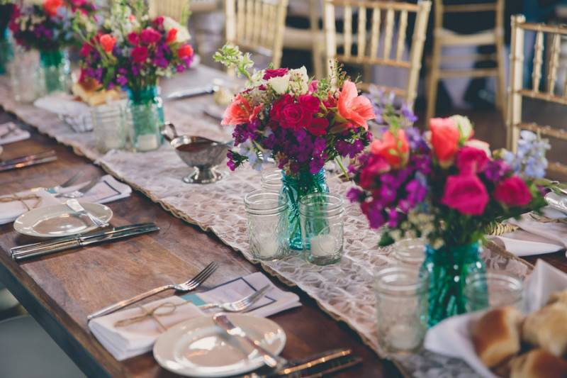 Tropical Colors And Rustic Feel