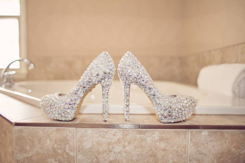A Wedding With A Fairytale Bling
