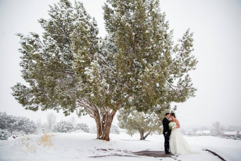 Saying I DO in the Middle of a Snow Storm