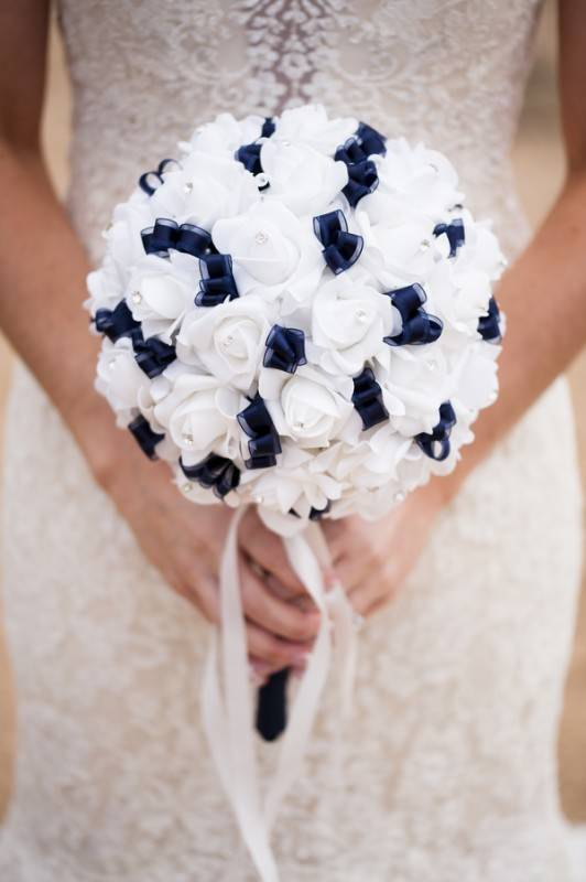 Navy And White Delight