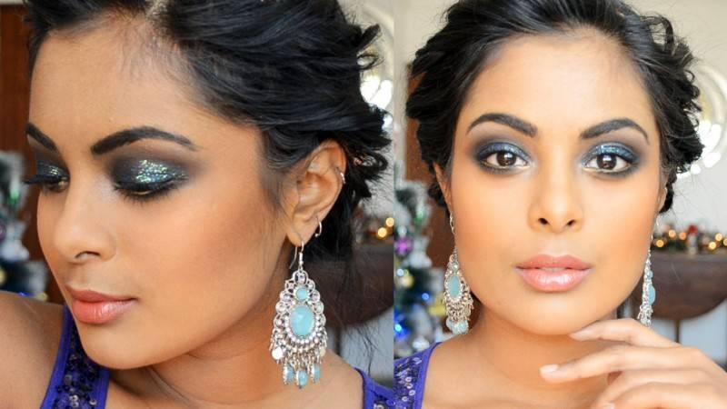 Bold but Elegant Wedding Makeup for the Not Necessarily Traditional Bride