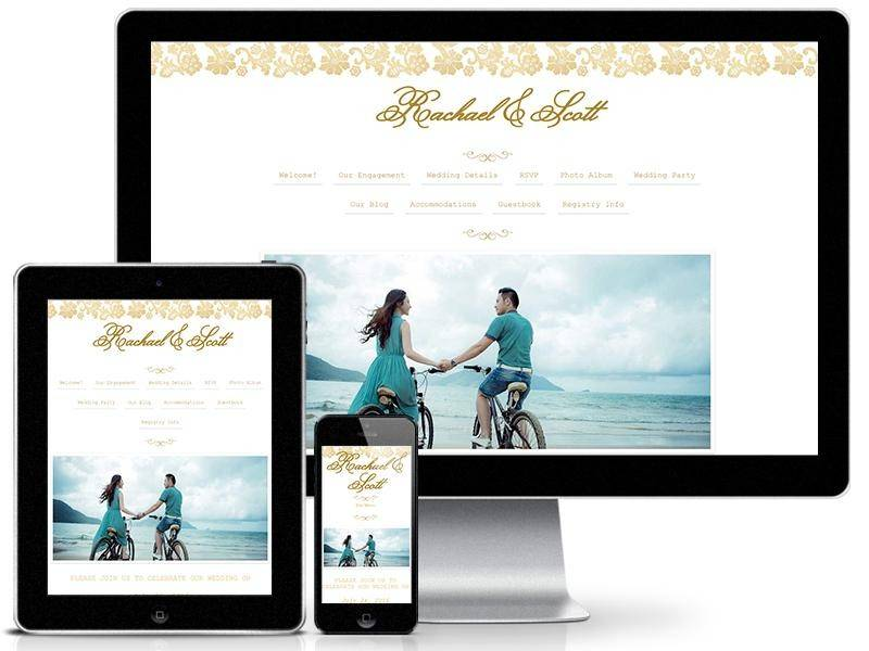 Nearlyweds Wedding Website Templates for Every Bride
