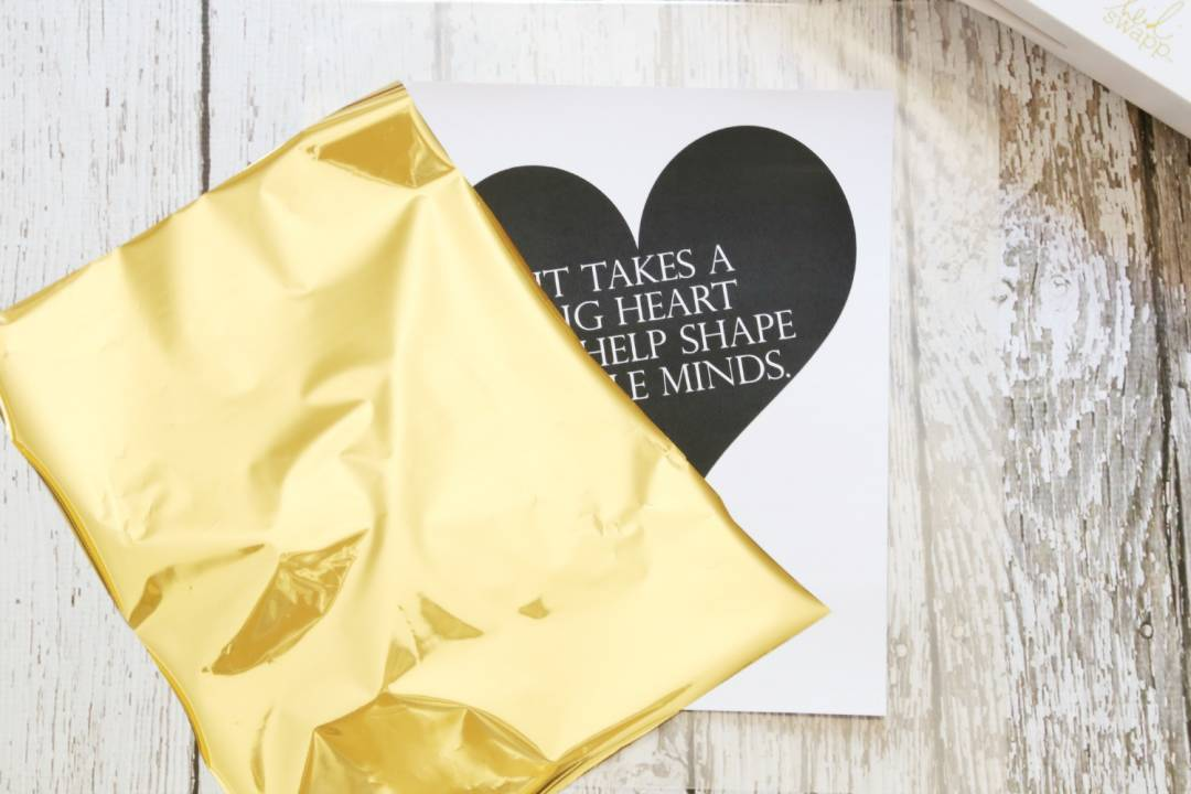 Create Gorgeous and Elegant Foil Invitations at Home