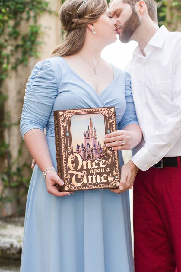 Cinderella Inspired Engagement