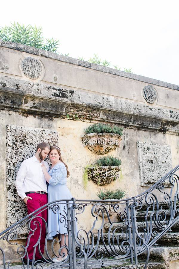 Fairytale Engagement at Vizcaya in Miami, FL