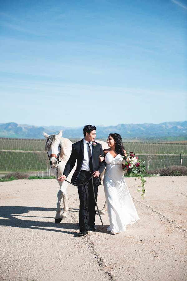 Styled Shoot:  Vineyard Elegance At Private Estate