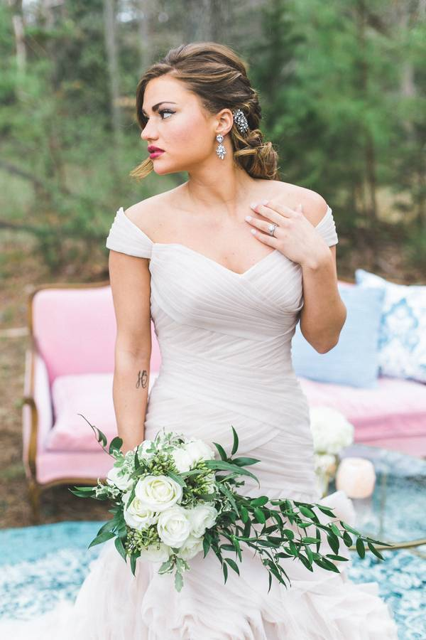 Glamorous in Southern Vintage
