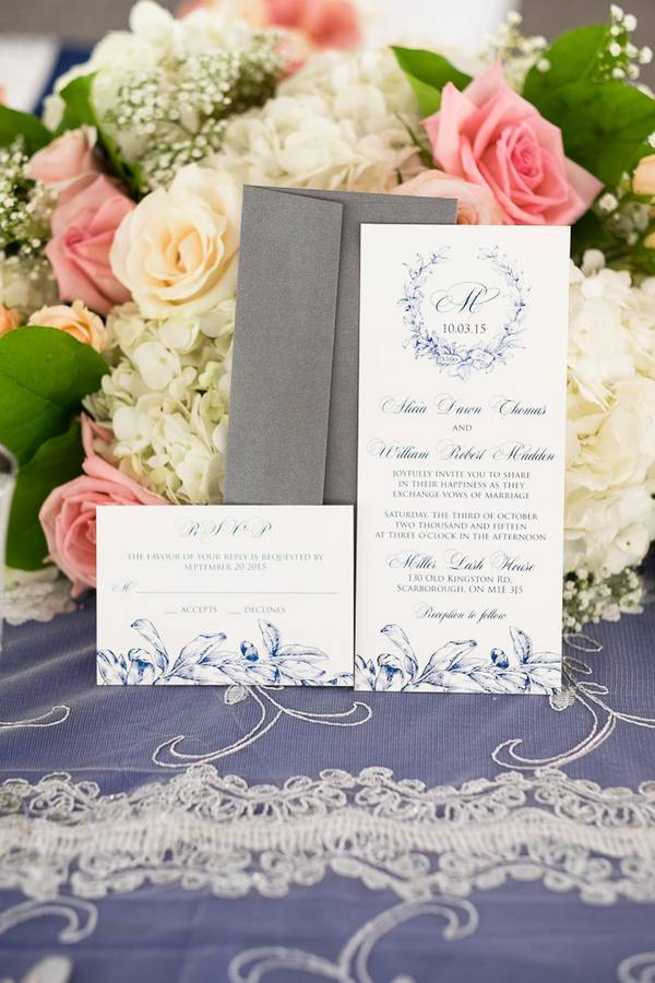 Blue & White Tented Elegance