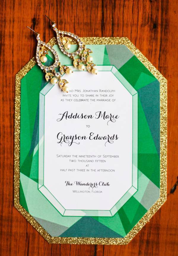 Styled Shoot: Gemstone Themed Wedding