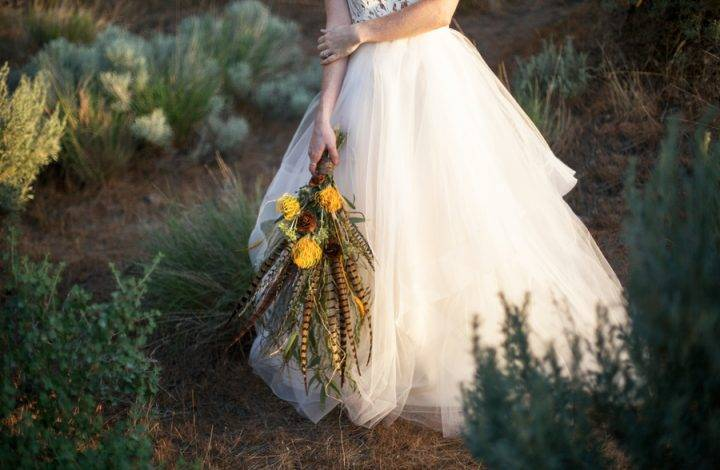 An Elegant Desert Wedding