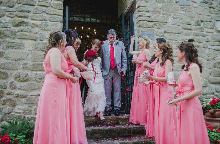 Renewal of Vows at A Medieval Castle