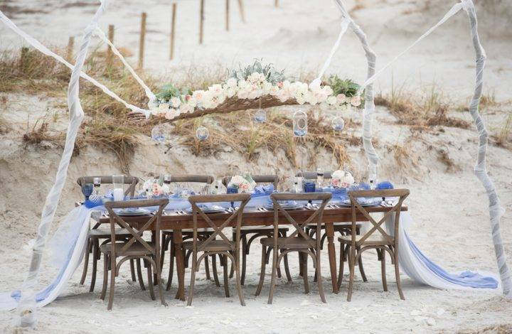 Blue Beach Wedding Inspiration