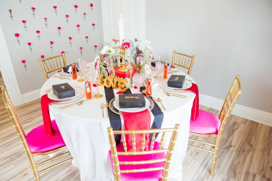 Valentines Day Inspired Bridal Shower Brunch