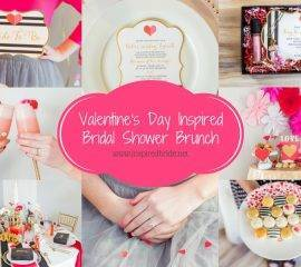 Valentine's Bridal Shower Brunch