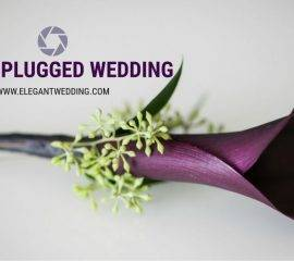 Unplugged Wedding Design