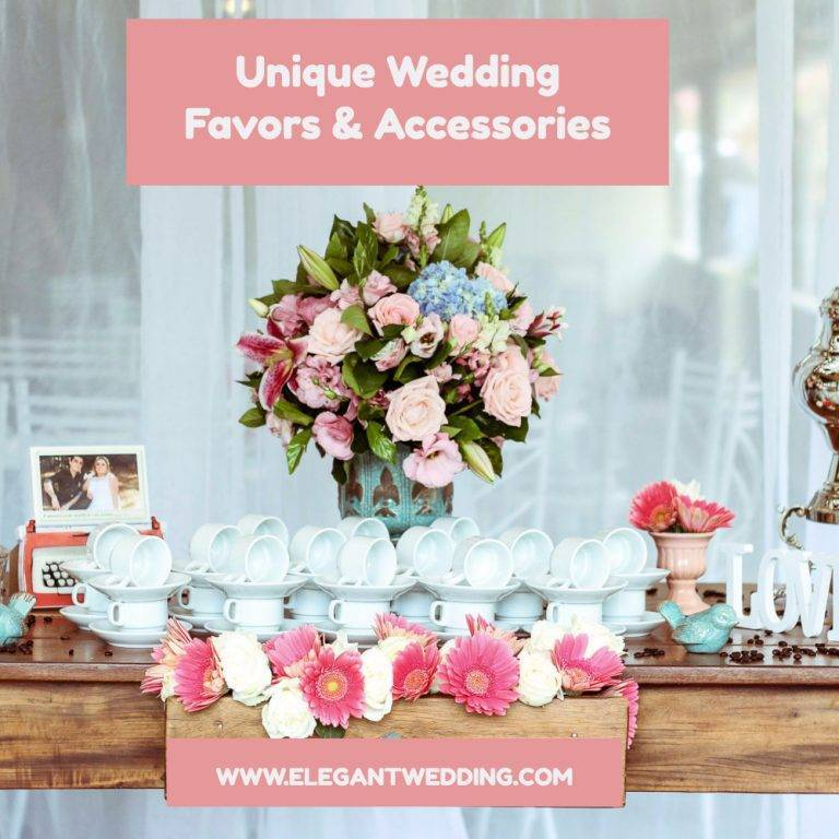Unique Wedding Favors And Accessories