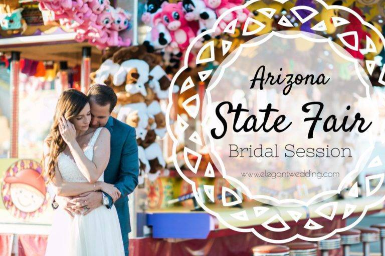 Arizona State Fair Bridal Session