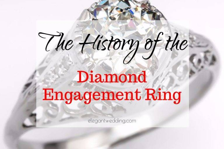 The History of the Diamond Engagement Ring