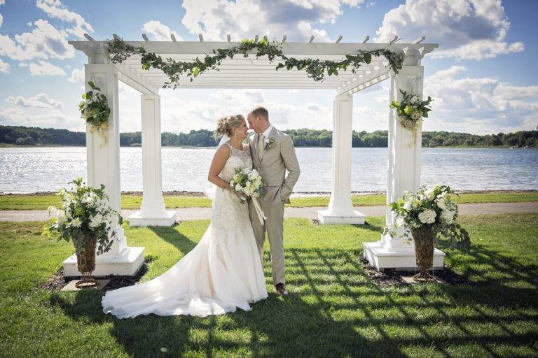 Upscale and Rustic Lakeside Wedding