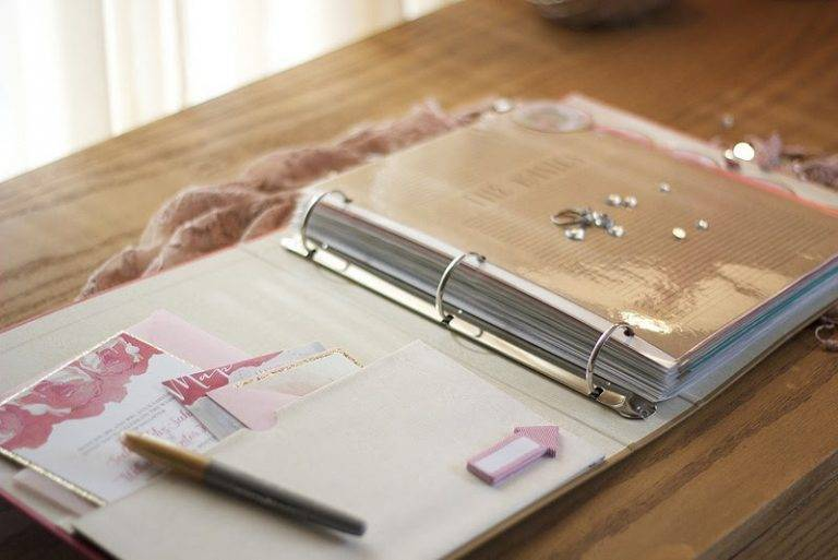 What To Include In Your Wedding Planning Binder For Success