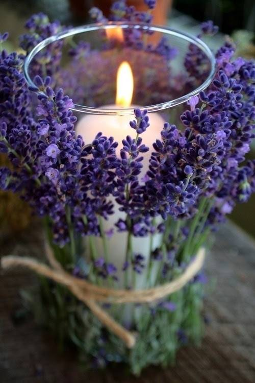 Charming DIY Lavender and Twine Centerpiece
