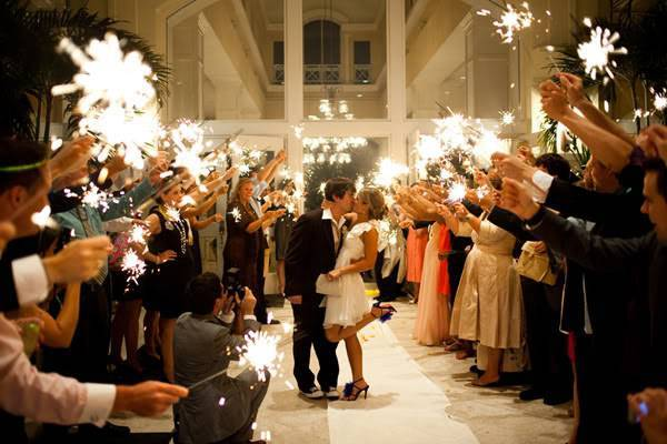 3 Fun Reasons To Have A Sparkler Send-off