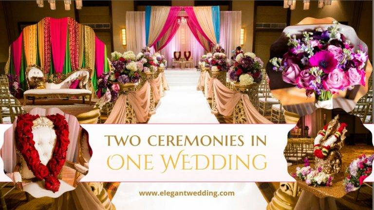 Two Ceremonies in One Wedding