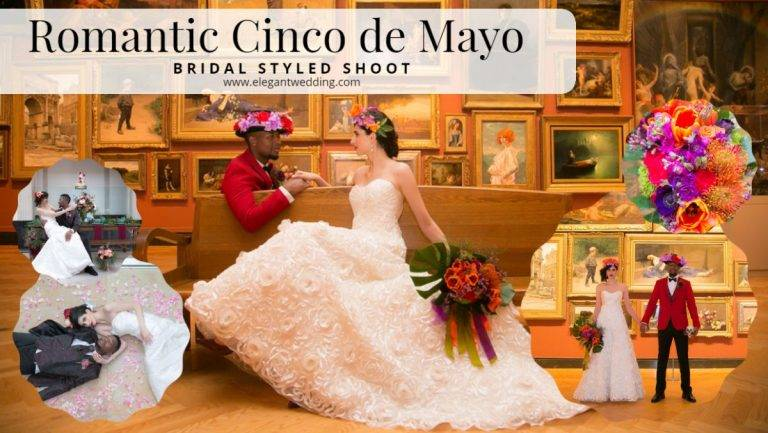 Romantic Cinco de Mayo Wedding