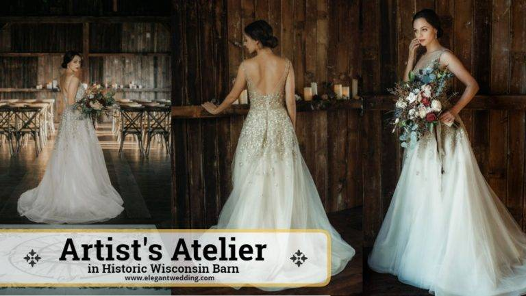 Artist's Atelier in Historic Wisconsin Barn