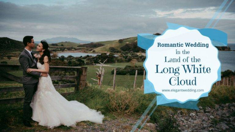 Beautiful Wedding in the Land of the Long White Cloud