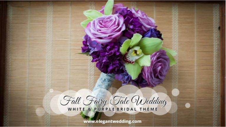 Fall Fairy Tale Wedding